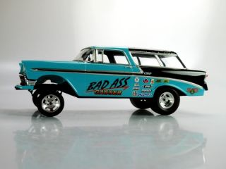 56 Chevy Nomad Gasser Drag Car Hot Rod Slot Car 1 25