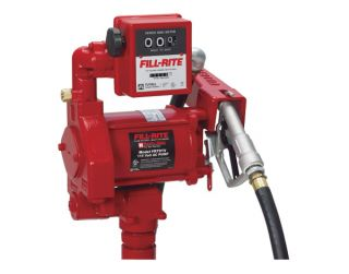Tuthill Fill Rite FR701V Electric 115 V Fuel Transfer Pump with Meter