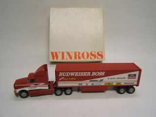 Winross Budweiser Boss Gary Collins Ford 1 64 Tractor Trailer Toolbox
