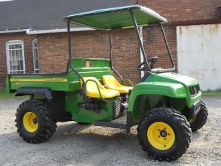 DEERE TX GATOR KAWASAKI ENGINE FARM UTILITY VEHICLE CANOPY NEW TIRES