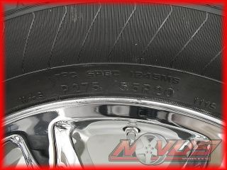20 GMC Yukon Sierra Denali Chevy Tahoe Silverado Chrome Wheels Tires