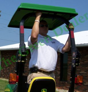 Hard Top Canopy Fits John Deere Compact Utility Tractor
