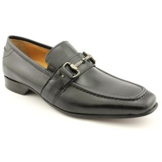 Giorgio Brutini 24979 Mens Size 9 Black Leather Loafers Shoes
