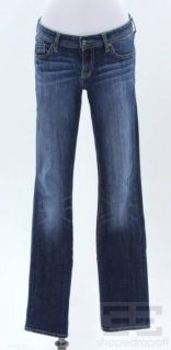 & Genetic Denim 2pc Blue Cropped & Straight Leg Jeans, 29/28
