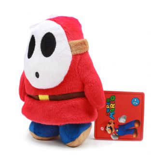 Authentic Brand New Global Holdings Super Mario Plush   5 Shy Guy