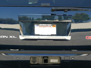 GMC Yukon Yukon XL SUV 2007 2011 TFP Chrome ABS Tailgate Handle Cover