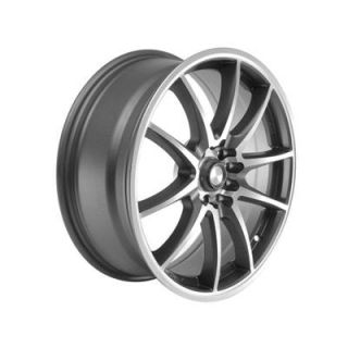 Summit Racing F10 Gray with Diamond Cut Wheel 17x7 5x100mm