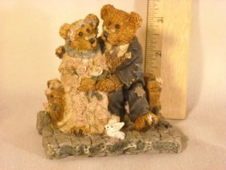 1993 Boyds Bears Friends Grenville Beatrice Best Friends 2016