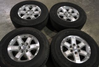 GMC 1500 Sierra Truck Wheels Tires 265 70 17 Goodyear Tires