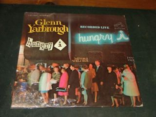 Glenn Yarbrough Live Album LP LSP 3661 Stereo