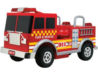 Kalee 12V Electric Ride on Toy Fire Engine Truck