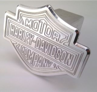 Trailer Hitch Cover Harley Davidson Motorcycle Badge