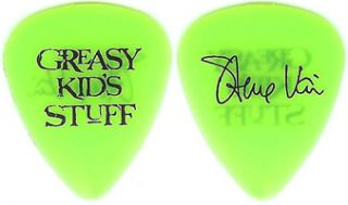 Steve Vai Authentic Neon Green Greasy Kids Stuff Guitar Pick