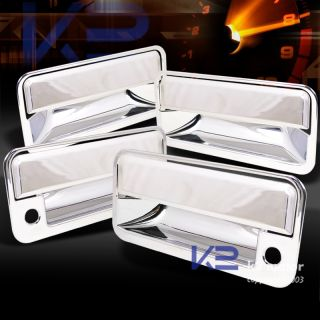 92 99 GMC Suburban Yukon Pickup Truck 8pcs Door Handle Covers Chrome