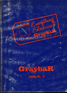 Graybar Electrical Electric Catalog Asbestos Wire Cord