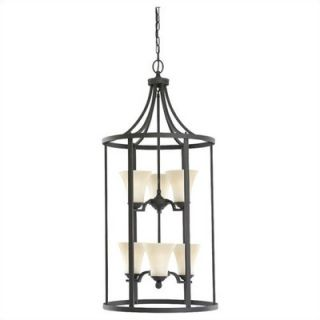Sea Gull Lighting Somerton 3 Light Foyer Pendant