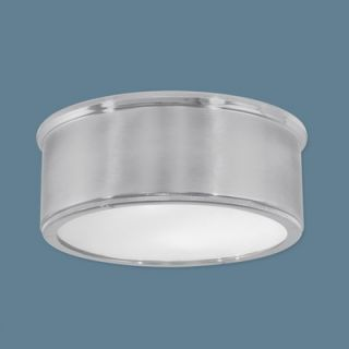 Norwell Lighting 2 Light Flush Mount   5378 PN/BN RI