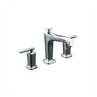 Price Pfister Saxton Double Handle Deck Mount Roman Tub Faucet   RT6