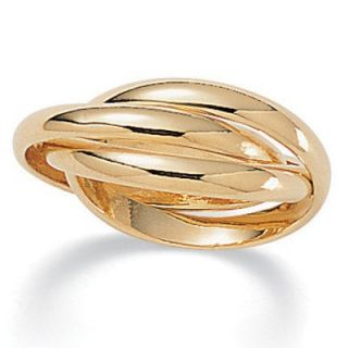 Palm Beach Jewelry 14K Rolling Gold   Plated Ring