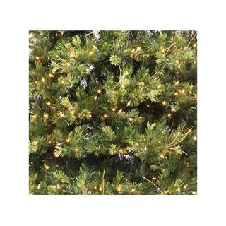 Vickerman 7.5 Prelit Slim Country Pine Artificial Christmas Tree with