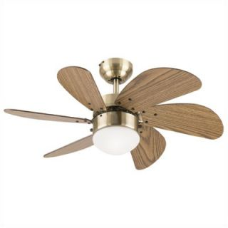 Westinghouse Lighting 30 Turbo Swirl 6 Blade Ceiling Fan