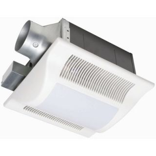 Exhaust Fans WhisperFit 2 Light 50 CFM Bathroom Ventilation Fan Light