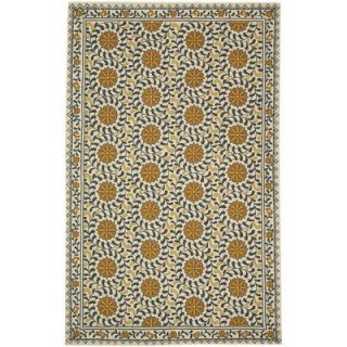 Safavieh Antiquities Steel Bluish Grey/Navy Rug