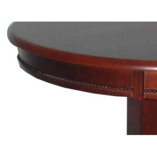 Boraam Florence Pedestal Pub Table in Light Cherry