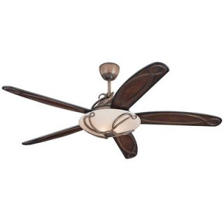 Monte Carlo Fan Company 66 Chloe 5 Blade Ceiling Fan with Remote