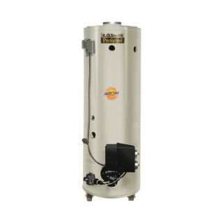 Smith Commercial Tank Type Water Heater Nat Gas 85 Gal