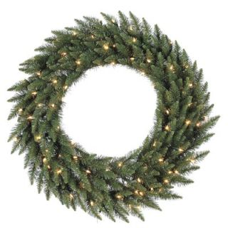 Vickerman Camdon Fir 84 Wreath with Clear Lights