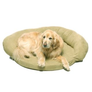 Everest Pet Memory Foam Bolster Dog Bed with Protector™ Pad in Sage