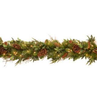 National Tree Co. Pre Lit 36 Cozy Christmas Wreath   DC13 104L 36W