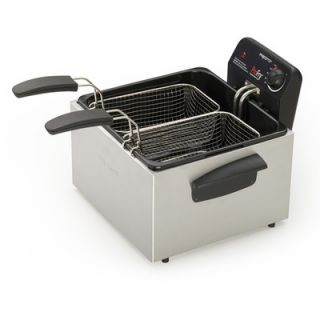Presto Dual Basket ProFry Immersion Deep Fryer