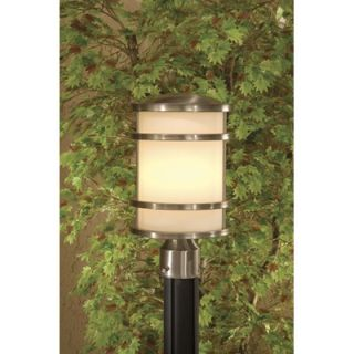 Minka Bay View Outdoor Post Lantern in Stainless Steel   9806 144 PL