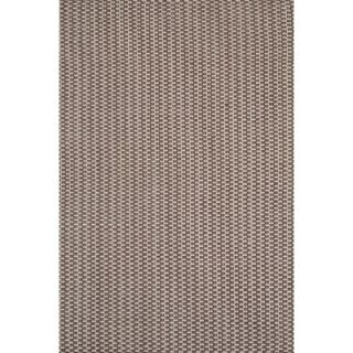 Dash and Albert Rugs Woven Chocolate Checkerboard Rug