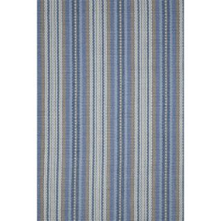 Dash and Albert Rugs Woven Evan Blue Rug