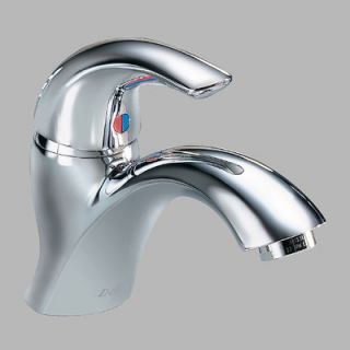 Delta Teck Single Hole Bathroom Faucet with Single Handle