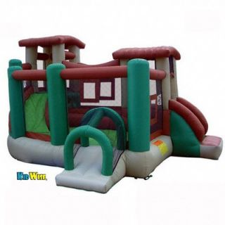 Kidwise Clubhouse Climber Bounce House   KW CLUB 04R