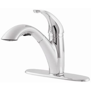 Price Pfister Parisa One Handle Centerset Pull Out Kitchen Faucet