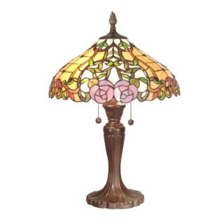 Dale Tiffany Arroyo Grande Guadalupe Table Lamp in Antique Bronze