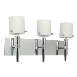 Nuvo Lighting Jet Vanity Light in Polished Chrome   60/1073 / 60