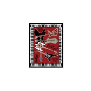 Home Dynamix Zone Music Novelty Rug   HD2776 200