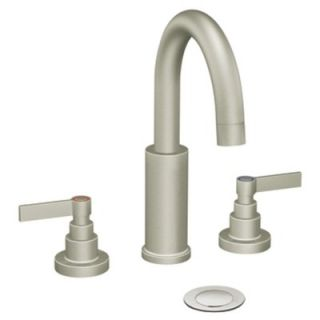 Moen Solace Widespread Bathroom Faucet with Single Lever Handle