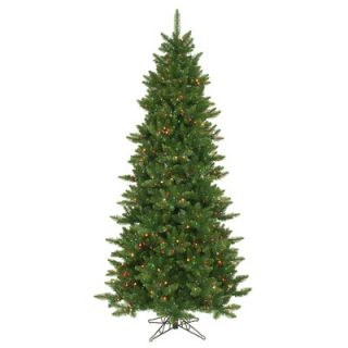 Vickerman Camdon Fir 8.5 Artificial Slim Christmas Tree with
