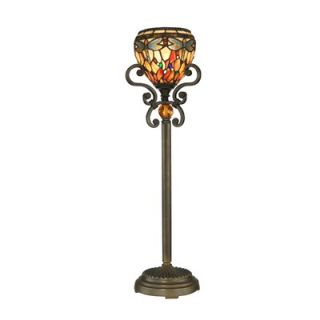 Dale Tiffany Dragonfly One Light Buffet Lamp in Antique Golden Sand