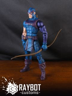 Marvel Legends Hawkeye Custom Action Figure by Raybot Customs Avengers