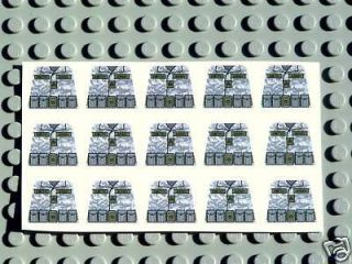 custom lego army soldier camo decals army builder  6 25 buy