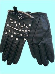Gorder London Black Soft Nappa Leather New Gloves M