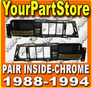 88 89 90 91 92 93 94 CHEVY GMC PU Pickup TRUCK Interior INSIDE DOOR